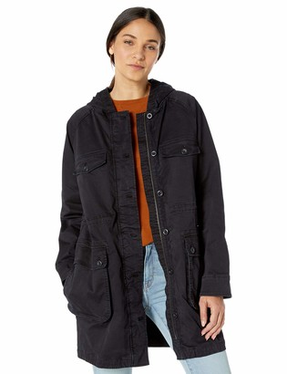 Goodthreads Hooded Utility Jacket Black XS