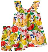 Toddler Ruffle Sundress & Bloomer Set