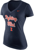 Nike Women's Illinois Fighting Illini Script T-Shirt