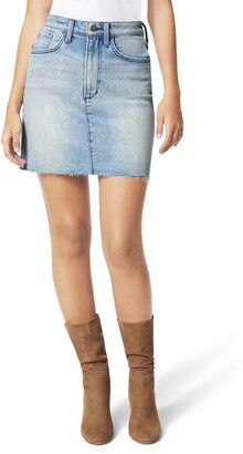 Joe's Jeans The High Waist Denim Miniskirt