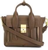 3.1 Phillip Lim mini Pashli satchel - women - Cotton/Leather - One Size