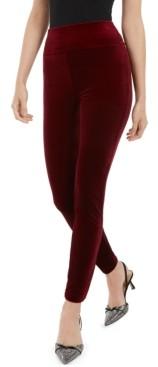 INC International Concepts Petite Velvet Pull-On Skinny Pants, Created for Macy's