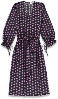 Essentiel V-neck Tellen Dress - polyester | small | 36