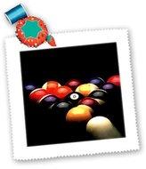 Pool' 3dRose LLC qs_719_1 Billiards - Billiards Pool - Quilt Squares
