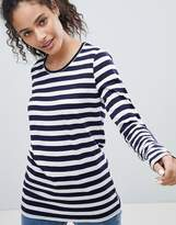 Bellfield Sebra Stripe Long Sleeved T-Shirt
