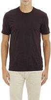 James Perse Men's Cotton Crewneck T-Shirt-BURGUNDY