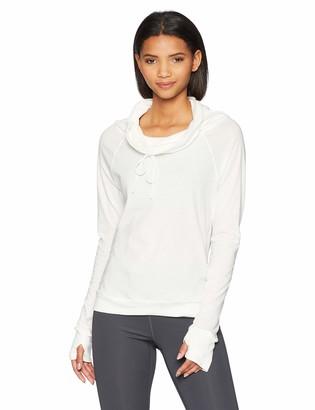 Maaji Women's Inspirit Solid Long Sleeve Top with Funnel Neck