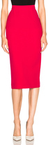 Roland Mouret Arreton Double Wool Crepe Skirt