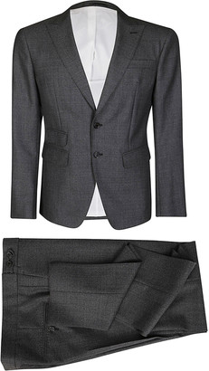 DSQUARED2 Grey Virgin Wool Two-piece Suit