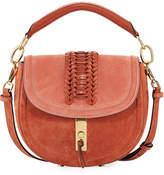 Altuzarra Ghianda Suede Saddle Bag, Rust