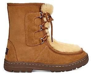UGG Women's Mukluk Revival Sheepskin-Lined Suede Boots