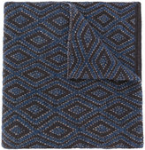 Lardini diamond pattern scarf