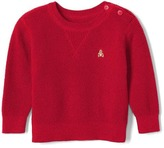 Gap Waffle-knit crew pullover