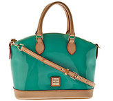 Dooney & Bourke As Is Patent Leather Domed Satchel