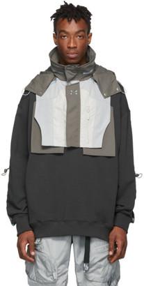 C2H4 Grey Colorblocked 3M Tactical Vest