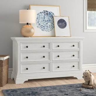 Three Posts Baby & Kids North Attleborough 6 Drawer Double Dresser