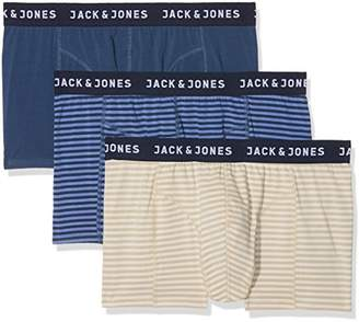 Jack and Jones Men's Jacstyle 2 Trunks Boxer Shorts,XX-Large (Pack of 3)