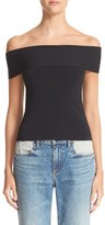 Alexander Wang Women's Off The Shoulder Top