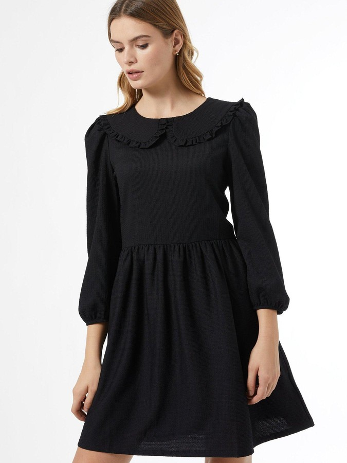Thumbnail for your product : Dorothy Perkins Fochette CollaredFit And Flare Dress - Black