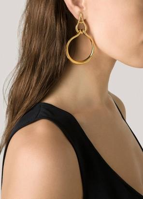 St. John Evening Chain Post Earring