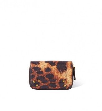 Jerome Dreyfuss Henri Wallet in Print Leopard