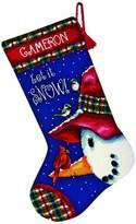 Dimensions Needlepoint Kit, Snowman Perch Stockings