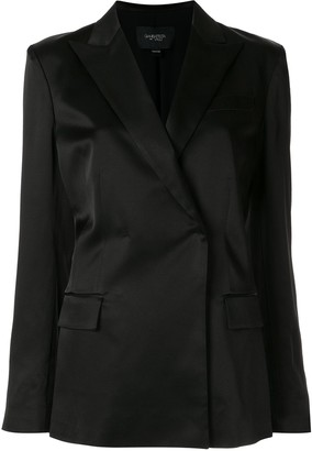 Giambattista Valli Double-Breasted Fitted Blazer