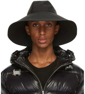 MONCLER GENIUS 6 Moncler 1017 Alyx 9SM Black Wide Brim Beach Hat