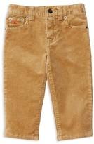 Ralph Lauren Infant Boys' Skinny Stretch Corduroy Pants - Sizes 6-24 Months