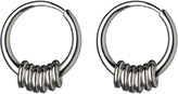 Links of London Sweetie sterling silver hoop earrings
