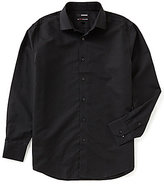 Murano Non-Iron Long-Sleeve Spread Collar Horizontal Dobby Sportshirt