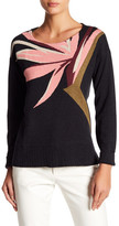 Tommy Bahama Long Sleeve Knit Print Sweater