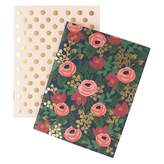Pottery Barn Teen Rifle Paper Co. Rosa Pocket Notebooks, Set of 2
