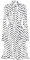 Altuzarra Printed silk-crêpe shirt dress