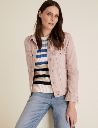 Marks and Spencer Denim Button Detailed Jacket