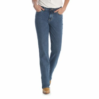 Wrangler Women's Cowboy Cut Slim Fit High Rise Stretch Jean