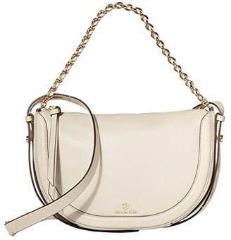 MICHAEL Michael Kors Jagger Small Messenger (Light Sand) Handbags