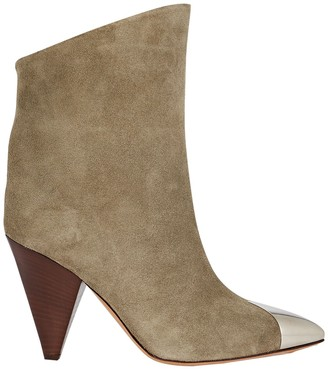 Isabel Marant Lapee Suede Ankle Boots