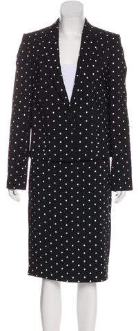 Givenchy Knee-Length Skirt Suit w/ Tags