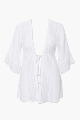 Forever 21 Plus Size Kaftan Swim Cover-Up