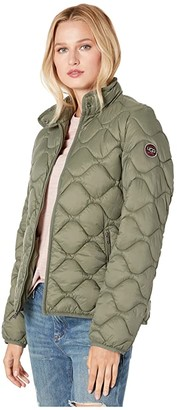 UGG Selda Packable Quilted Jacket (Black) Women's Clothing