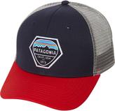 Patagonia Fitz Roy Hex Trucker Cap Blue
