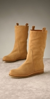 Shoes Mid-Calf Wedge Boot