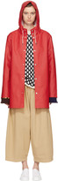 Stutterheim Red Stockholm Raincoat