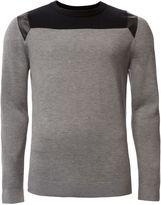 Calvin Klein Secret 3 Cn Wool Blend Long Sleeve Sweater
