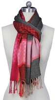 Saachi Women's Multi Pattern Scarf.