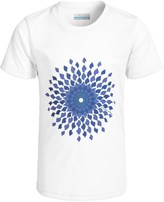 Columbia Sunny Burst Omni-Wick® Shirt - UPF 50, Short Sleeve (For Little and Big Girls)