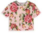 Dolce & Gabbana Toddler, Little and Big Girl's Cotton Floral Blouse