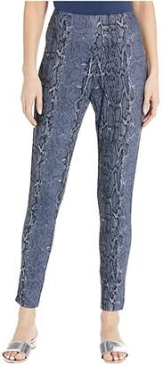 Krazy Larry Pull-On Ankle Skinny in Stretch Knit (Snake) Women's Dress Pants
