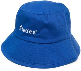 Études Embroidered Logo Bucket Hat